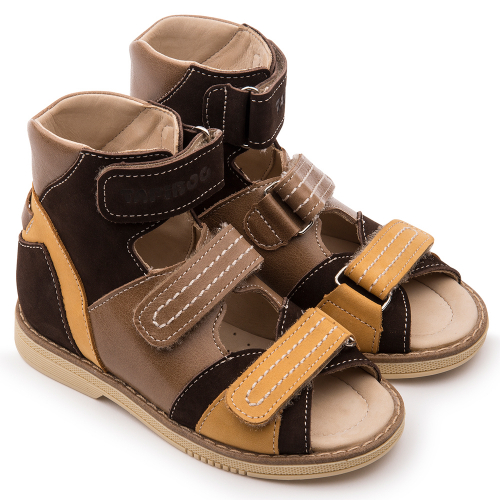 Туфли открытые для мальчика FT-26016.18-SL13O.01