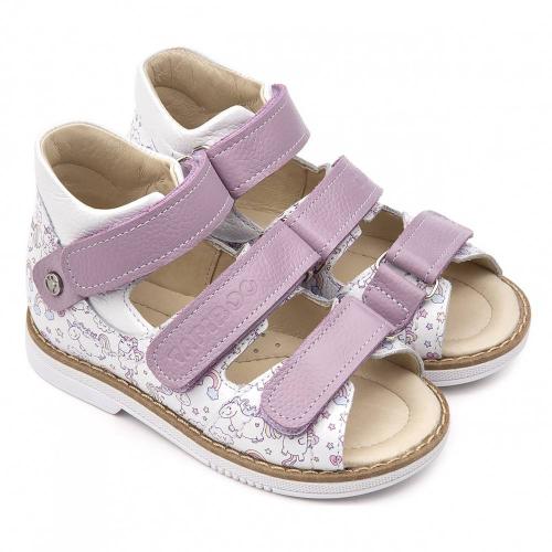 Туфли открытые для девочки FT-26028.20-OL03O.02