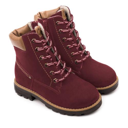 Ботинки зимние для девочки FT-23014.18-OL06O.01