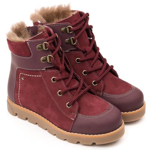Ботинки зимние для девочки FT-23019.20-WL06O.01