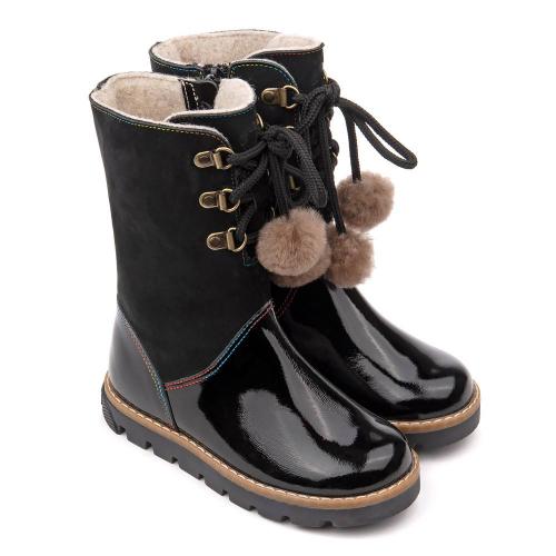Сапожки зимние для девочки FT-22012.20-FL01O.02