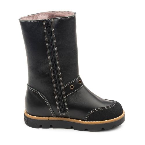 Сапожки зимние для девочки FT-22005.17-FL01O.02