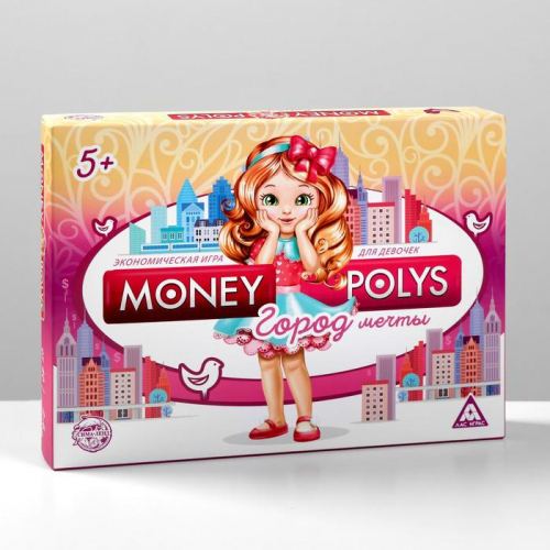 Настольная экономическая игра «MONEY POLYS. Город мечты»