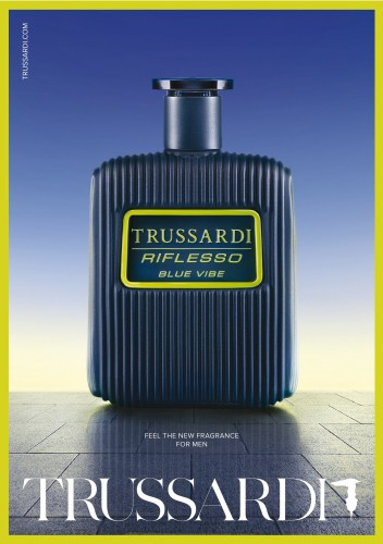 Trussardi Riflesso Blue Vibe муж т.в 100 мл тестер