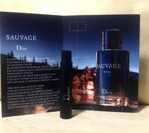 Dior Sauvage муж т.д. пробирка 1ml
