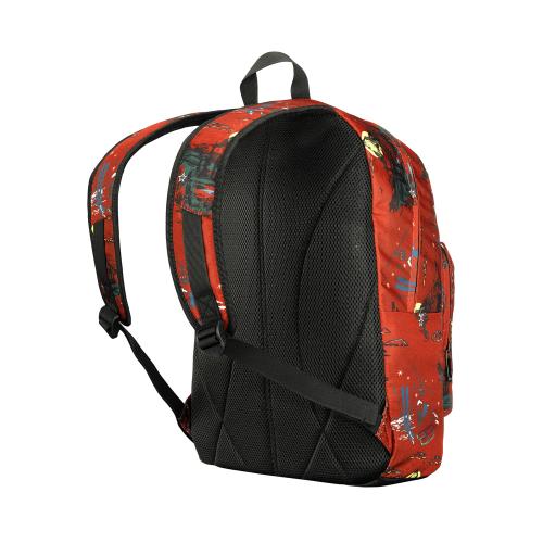 Рюкзак Wenger Crango 16'', оранжевый с рисунком, 31x17x46 см, 24 л