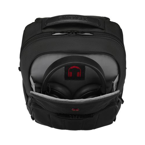 Рюкзак Wenger BC Mark 12-14'', черный, 30x18x45 см, 18 л