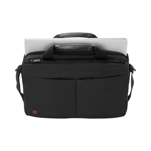 Портфель для ноутбука Wenger 14'', черный, 39x8x26 см, 5 л