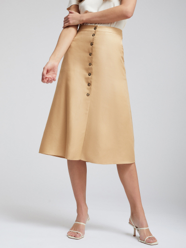 Льняная юбка