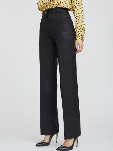 Расклешенные брюки с мерцанием