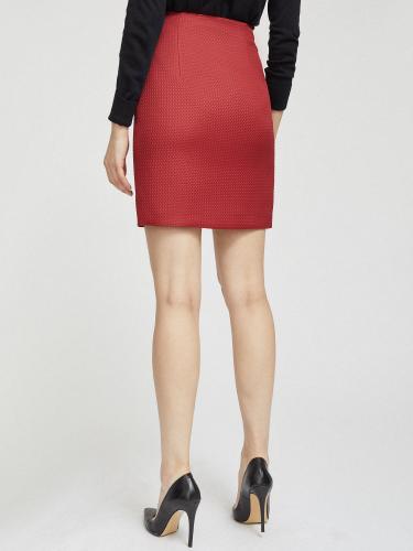 Короткая стеганая юбка