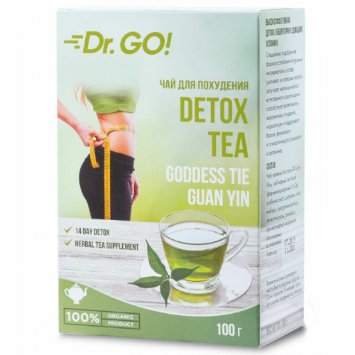 Dr.GO! Чай для похудения DETOX TEA (натуральный растительный микс-коктейль)