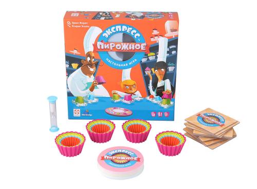Настольная игра Экспресс-пирожное (Cupcake Academy)