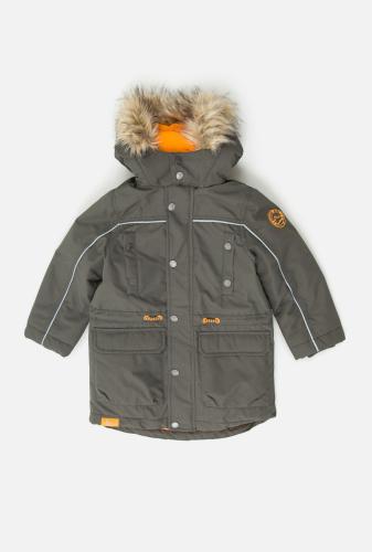 Куртка детская для мальчиков Hanz_D хаки. ACOOLA