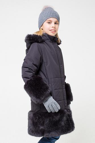 Пальто #147477Черный