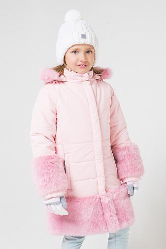 Пальто #147476Розовый