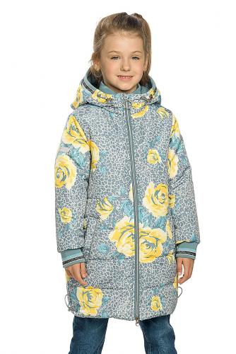 Пальто #146280Серый