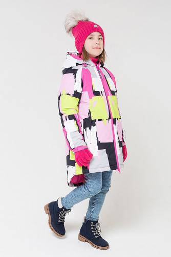 Пальто #142963Розовый