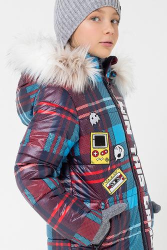Пальто #147479Красный