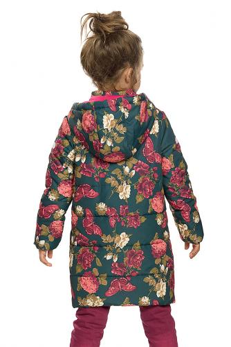 Пальто #146277Изумрудный