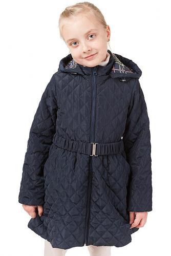 Пальто #166204Т.синий
