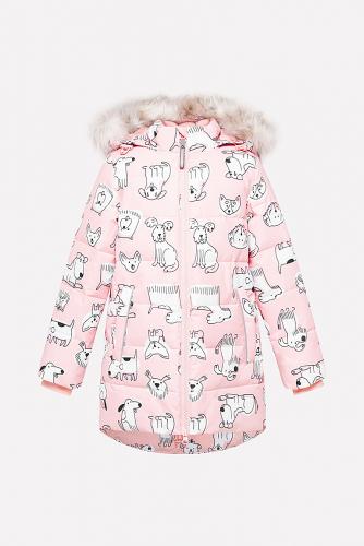 Пальто #154308Светло-розовый