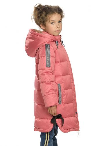 Пальто #146284Розовый
