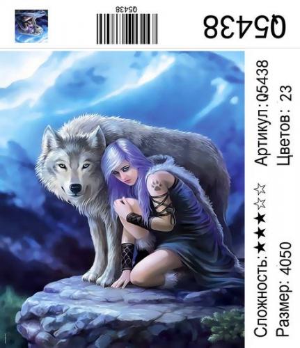 Q5438 Картины-раскраски по номерам 40х50