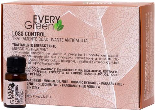 LOSS CONTROL TRATTAMENTO ENERGIZZANTE Сыворотка против выпадения 8*8ml