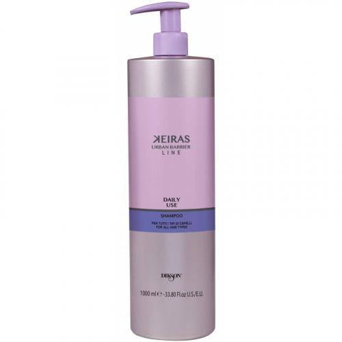KEIRAS Daily Use shampoo FOR ALL HAIR TYPES /Ежедневный шампунь 1000мл.