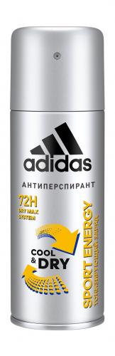Adidas Антиперспирант спрей c&d sport energy муж. 150 мл