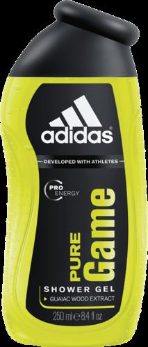 Adidas Pure Game Гель для душа муж. 250мл