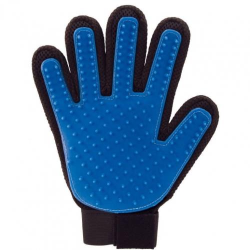 Перчатка для вычёсывания шерсти True Touch в ассорт.