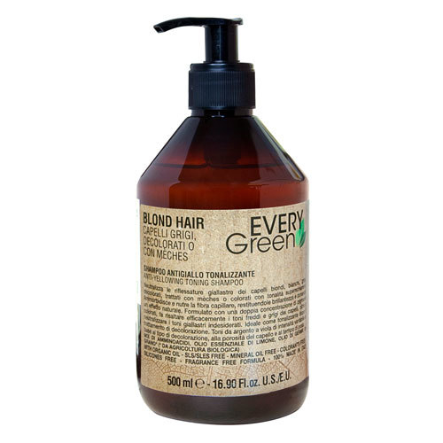 Antiyellow shampoo double concentration Шампунь против желтизны двойной концентрации 500ml