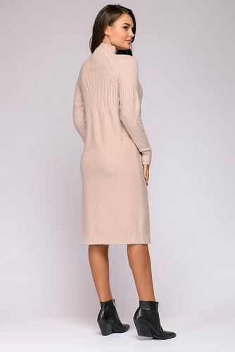 Платье #302218Светло-бежевый