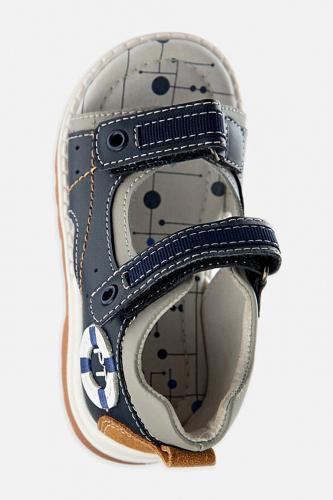 Сандали #185748Темно-синий,белый