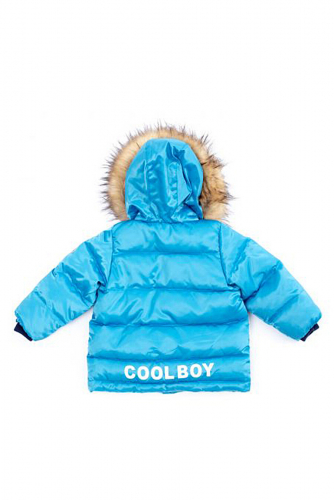 Куртка #104405Темно-синий/Синий