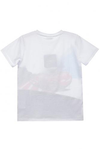 Костюм (Брюки+Футболка) #422895Белый, серый