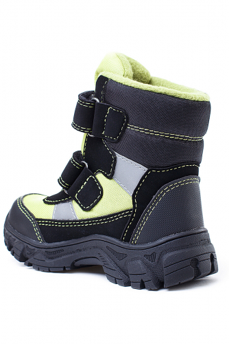 Ботинки #105545Темно-серый