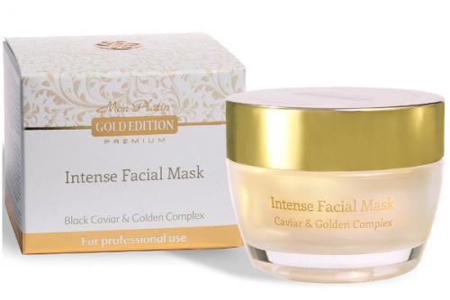 Интенсивная увлажняющая маска для лица, обогащённая экстрактом черной икры Gold Edition Premium 50 мл