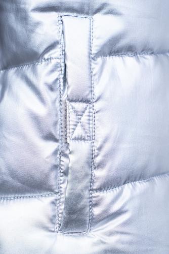 Куртка #151880Серебристый