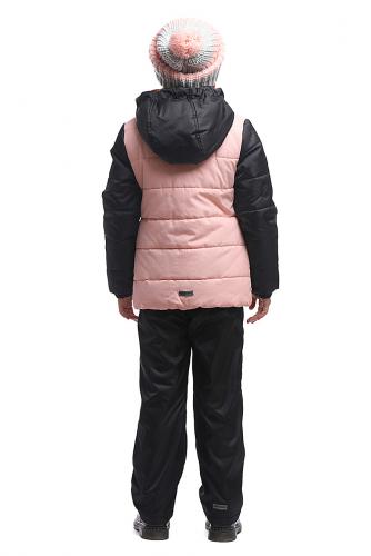 Куртка #115150Розовый/Черный