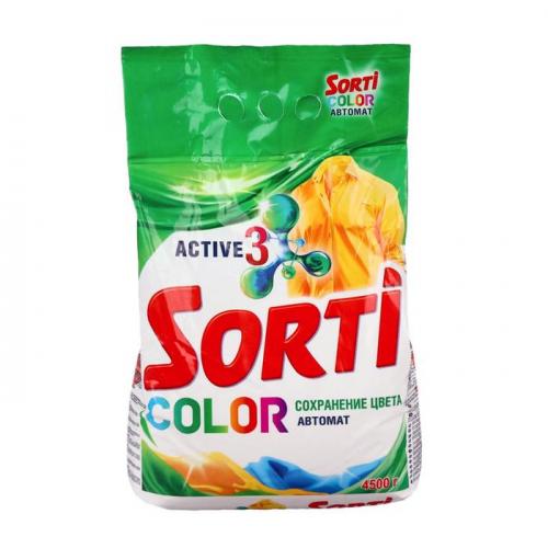 Порошок Sorti  Color Автомат, 4,5кг