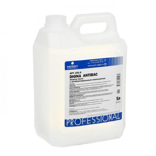 Жидкое мыло  Diona Antibac с антибактериальным эффектом, 5л