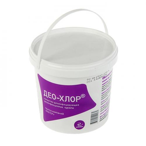 Дезинфицирующее средство Део-Хлор, 300 таблеток по 3,4 г,