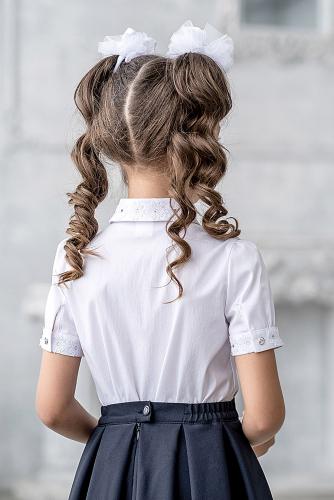 Блуза #214549Инес белый