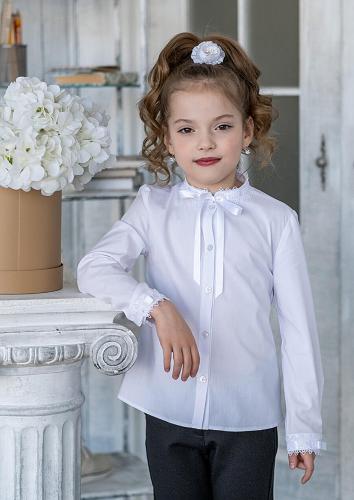 Блуза #198485Новела белый