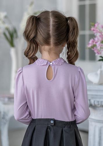 Блуза #198864Стиви сиреневый