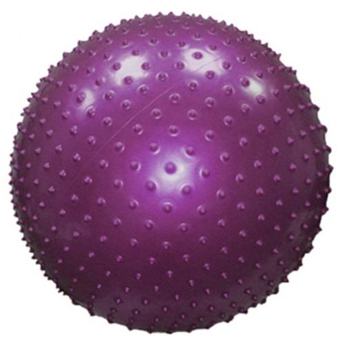 Е506 Мяч д/фитнеса, d65см, игольчатый,до 130кг, 1000гр