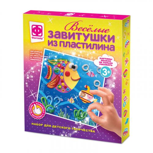 447103 Веселые завитушки из пластилина Набор №3